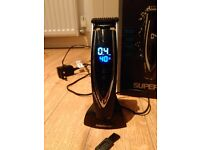Babyliss super stubble shaver, with box