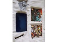 Nintwndo 3ds xl newer model. Inckudes 2 games, charger and stylus