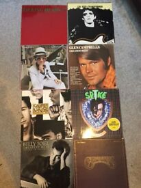 Collection of Vinyl LP Albums