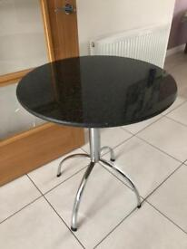 Granite top round table