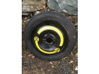 Spare wheel space saver 14inch