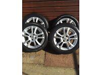 Vauxhall 16inch alloys Corsa Astra combo