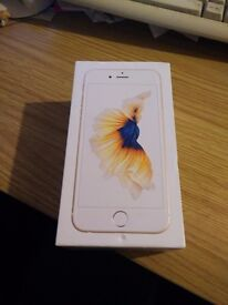 Boxed Gold iPhone 16gb 6s Gold (Vodafone) Good Condition Boxed + Lead + Plug + Headphones + Free Sim