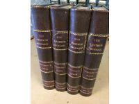 Antique set of 4 Books The Amateur Mechanic