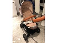 Icandy peach with maxi cosy car seat