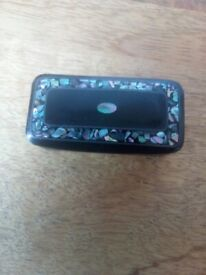 Antique Victorian snuff box inlaid sell for £20