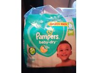 Pampers size 5+ and other