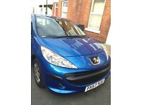PEUGEOT 207 HATCH BACK 1.4 VTi S [95] 2007 BLUE
