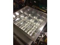 20x fluorescent tube light fitting
