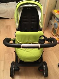 Silvercross Pioneer Pushchair and Carrycot