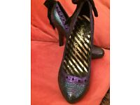 Ladies gorgeous irregular choice shoes