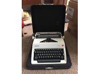 Vintage Olympia type writer