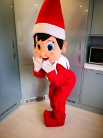 Christmas mascot visits
