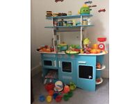 ELC kitchen with various toy food and accessories £70
