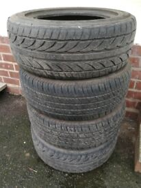 Achilles 215/55R16.97W Tyres hardly used £120 set