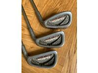3, 6 and 9 golf iron