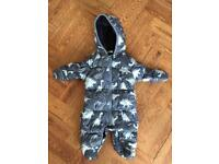 Dinosaur snowsuit / all in one from Next