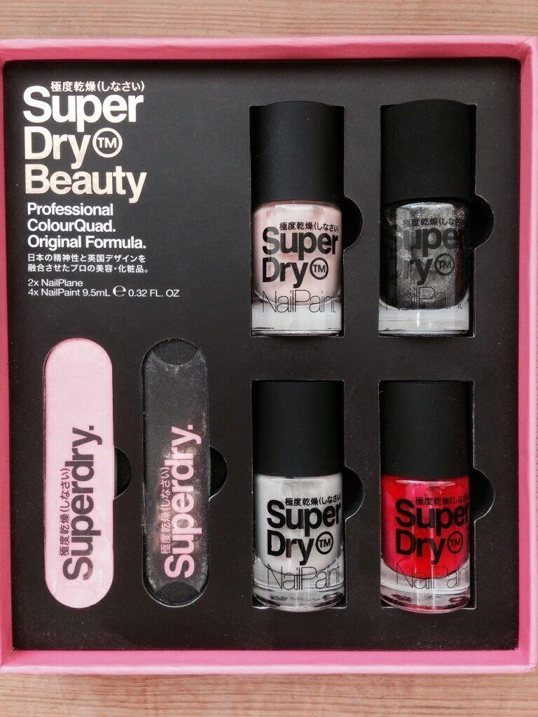 Brand New Superdry Nail Polish Set