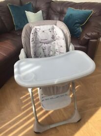 CHICCO POLLY HIGH CHAIR 2 IN 1