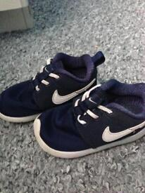Toddler nike trainers size 6.5