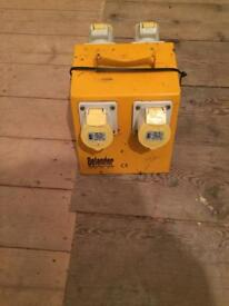 110v defender splitter box in very good condition
