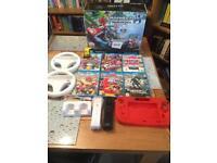 Wii U 32gb premium Mariocart 8 Bundle