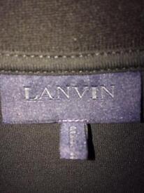 LANVIN BLACK T SHIRT XL