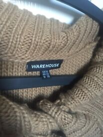 Brown cardigan size 10 (new)