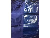 Inflatable mattress single air bed BLUE