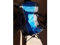 High Back Deluxe Camping Chair