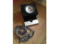 Alpine amp plus sub an 6x9 with full wiring kit £80