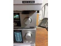 100% JAPANESE QUALITY 4 separate vintage sistem SANYO JA 350A, JT 250LA, RD250A, TP250.MADE IN JAPAN