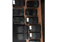Job lot of 100 Blackberry Mobile Phones Untested Customer Returns