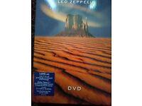 ** SET OF LED ZEPPELIN DVD's **