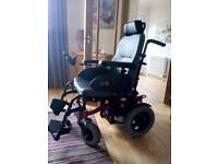 Quickie tango dual control electric wheel chair in full working order. Less than 2 years old