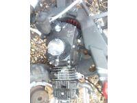 stomp bike , pit bike engine 110 cc