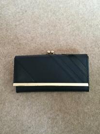 Smythson of bond street business card holder new in oxford black purse very good condition reheart Images