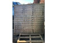 Wooden fence panel (free to anyone that collects)