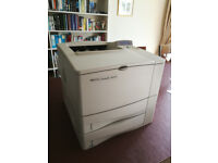 HP LaserJet 4050TN laser printer, extra tray, double-side, network, great condition, low page count
