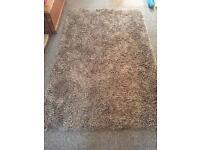 Large mink shaggy rug 150 X 240 cm