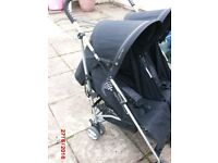 Mamas and Papas Tempo double buggy.