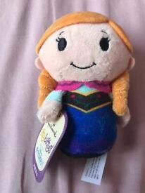 Itty Bittys Disney Frozen Anna toy doll