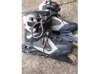 Inline skates / roller blades (adult size 8UK / 42 EUR). Great condition