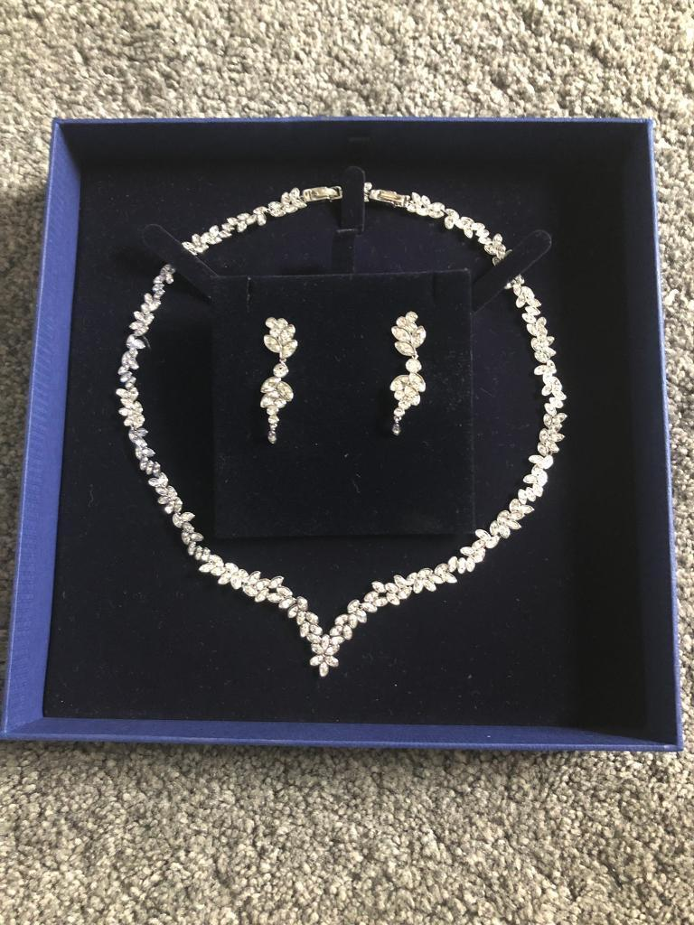 d2a85f2b9a0 Swarovski Diapason necklace and earring set | in Crowthorne ...