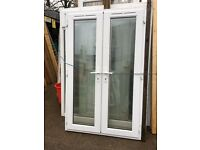 UPVC French Doors (Recycled) £280 (Size in the second photograph)