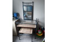 Used dressing table in really good condition , comes with stool.