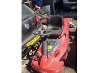 Castelgarden ride on compact lawn mower