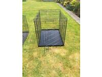 2 Dog/cat/pet/animal cages for sale