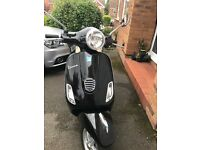 Vespa LX50 low mileage 2 owners from new. Tested to 18Aug. Only done 120 km since last test