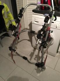 Halfords 3 cycle bike rake with lighting board